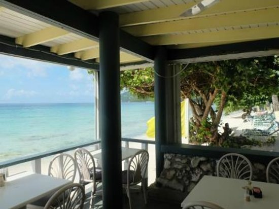 Sebastian's on the Beach: Apple Bay, View from Sebastian's Restaurant
