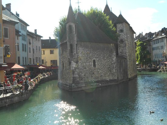 Lac d'Annecy: Old prison