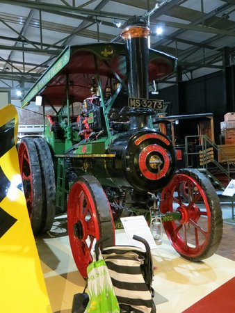 Grampian Transport Museum: Steam tractor