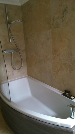 The Rest: high standard finishes in bathroom