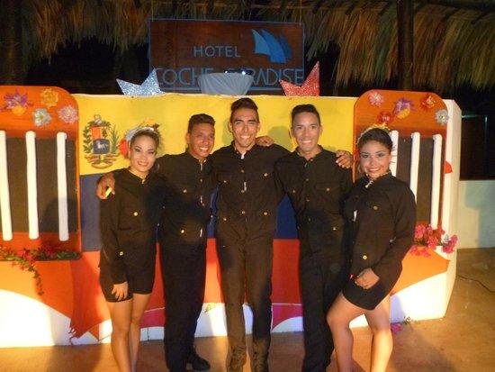 Coche Paradise Hotel Isla Margarita: el grupo de recreación excelente