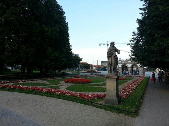 Saxon Gardens: Il parco