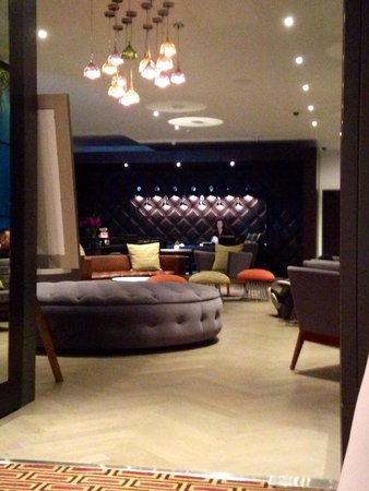 Malmaison London: Reception area