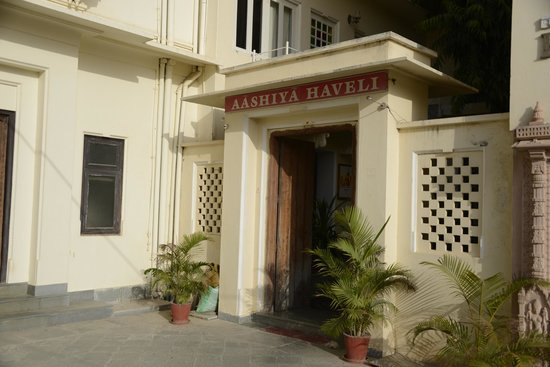 Hotel Aashiya Haveli: Entrance