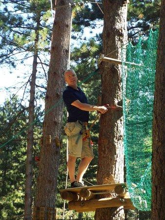 Les Accros d'Anjeau: Old man up a tree!