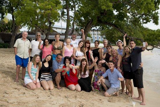 Almond Beach Resort: Group