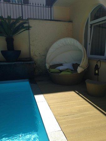 Villa Maggie: pool / patio
