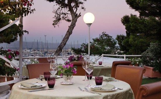 vista dalla terrazza - Foto di Dal Corsaro al Mare, Cagliari ...