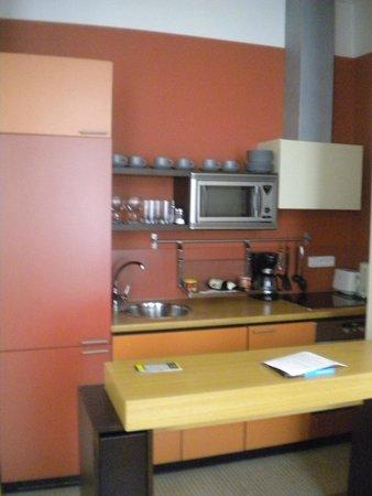 Mamaison Residence Belgicka Prague: Cuisine aménagée