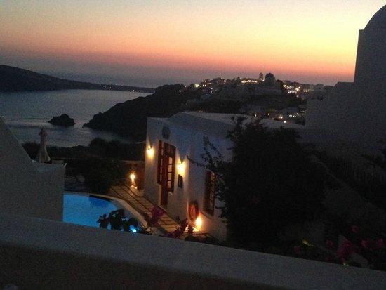 Nikos Villas: view