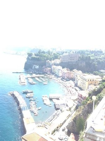 Hotel Belair : View of Sorrento from the terrace