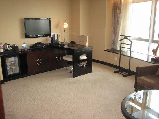 Zhongbang Hotel: Room desk