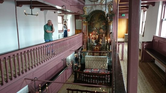 Museo Amstelkring (Iglesia de Nuestro Señor en el Ático): Our Lord in the Attic, Amsterdão.