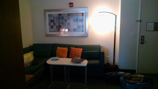 SpringHill Suites Philadelphia Langhorne: Sitting area of room