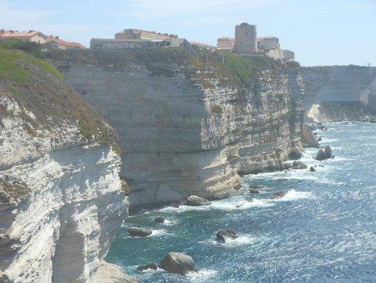 Bonifacio Citadel: scogliere