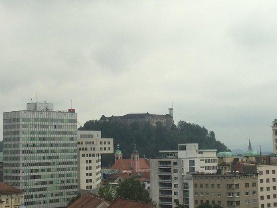 Hotel Lev Ljubljana: Vistas des de la habitación