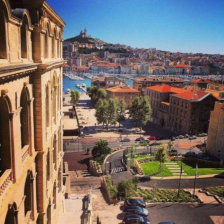 InterContinental Marseille - Hotel Dieu: Vue de jour chambre 738