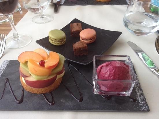 Garrigae Manoir de Beauvoir : dessert