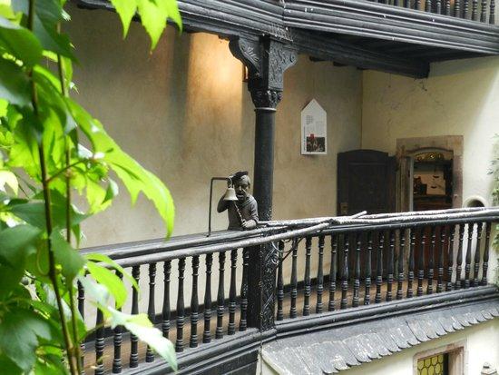 Musée alsacien : Внутренний двор музея