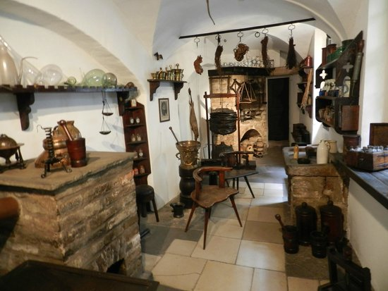 Musée alsacien : Интерьер.