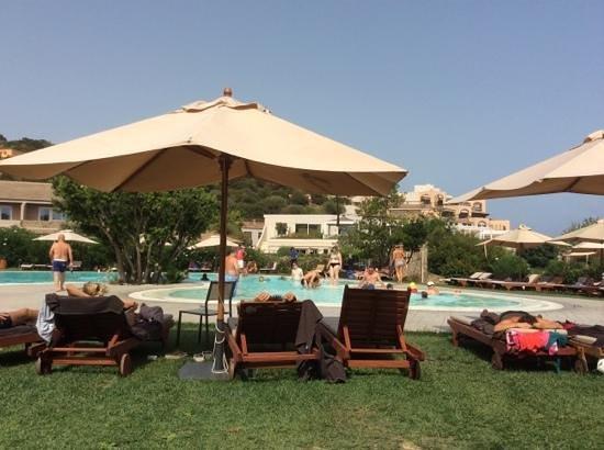 Chia Laguna - Hotel Laguna: main pool at Chia Laguna