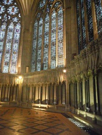 Cathédrale d'York : Vetrate della Cattedrale