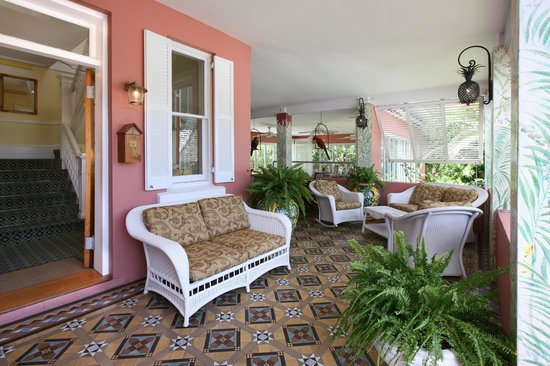 Royal Palms Hotel: Patio