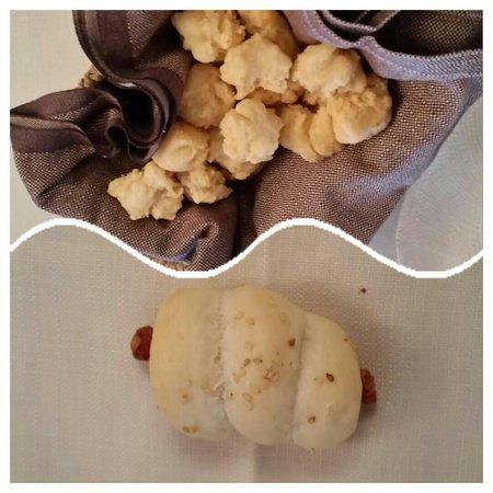 La Botte di Bacco : Homemade bread, really nice!!
