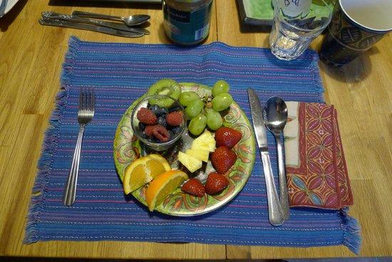Angela's Bed & Breakfast Ottawa: my every morning healty start
