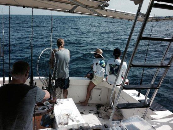 Cara Mia Fishing Charters: Plenty of room for everybody