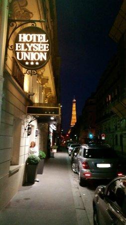 Hotel Elysees Union: Hotel Facade
