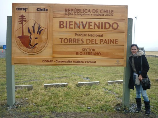 Torres del Paine National Park: Llegamos