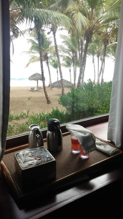 Sivory Punta Cana Boutique Hotel: breakfast in bed
