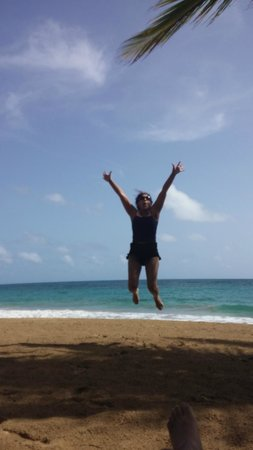 Sivory Punta Cana Boutique Hotel: loving the beach