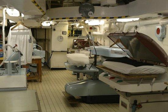 Britannia (navire) : Lavandería de Britannia