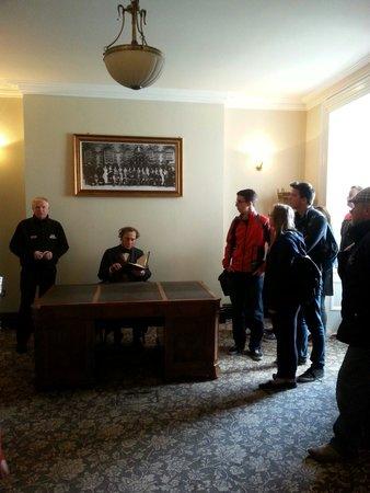 Crumlin Road Gaol: Brendan In Govenors Room