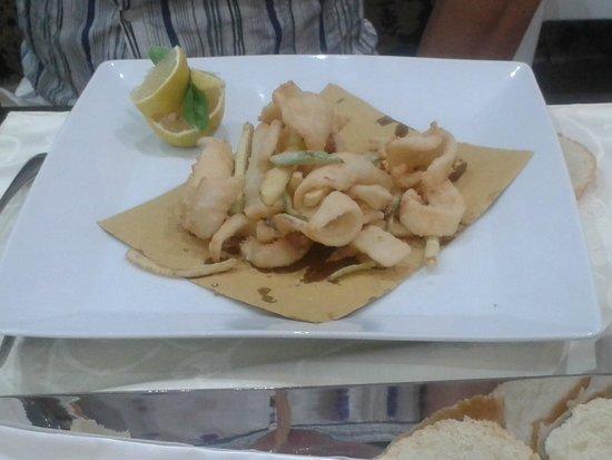La Perla del fortino: fritto misto