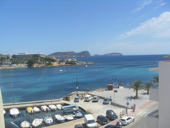 AluaSoul Ibiza: View over Marina from room 417