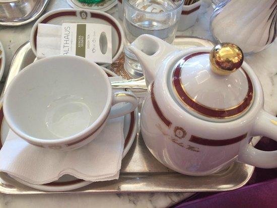 Café Sacher Wien: Чай в Cafe Sacher