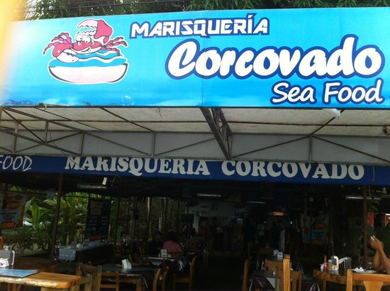 MARISQUERIA CORCOVADO: View from the street