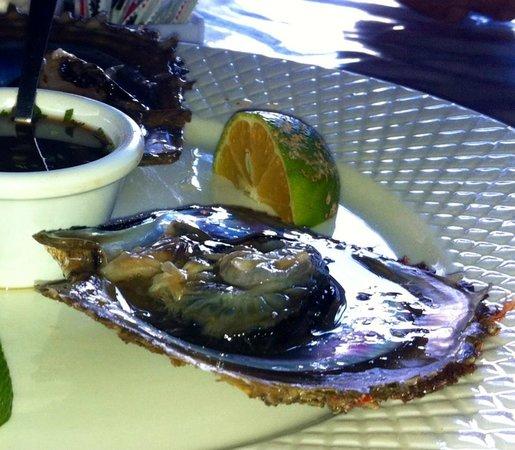 MARISQUERIA CORCOVADO: Giant Oyster!