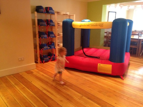 Bernie & Gemma's Cafe Play: Bouncy castle