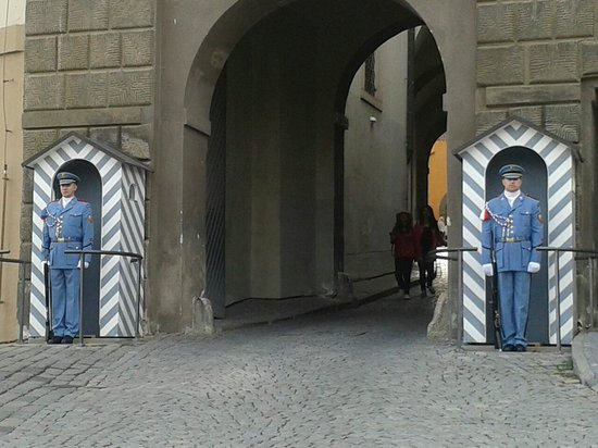 Château de Prague : Guardia real