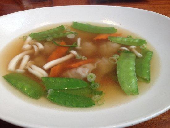 Steam : Wonton soup