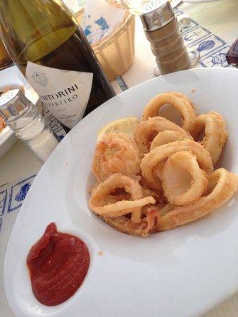 Fanari Restaurant: Calamari fritti