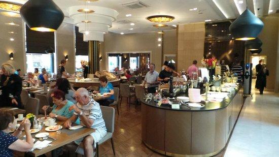 Continental Hotel Budapest: Frühstücksbuffet