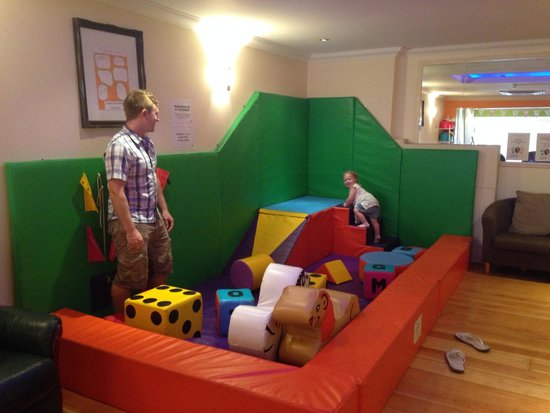 Bernie & Gemma's Cafe Play: Soft play area