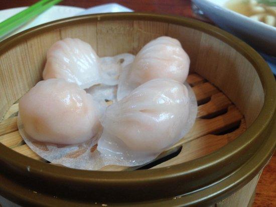 Steam: Shrimp dumplings
