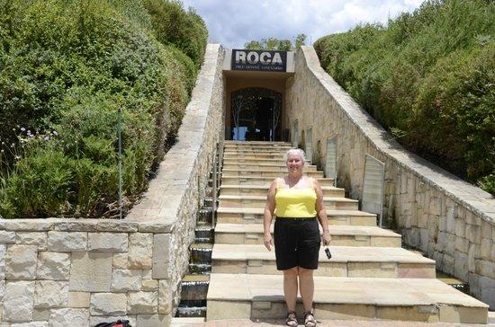 Dieu Donne: Entrance to Roca