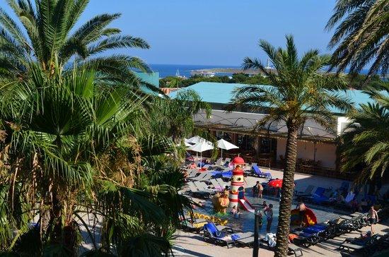 Barcelo Pueblo Menorca: dal balcone della camera